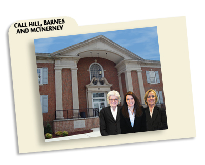 Lawyers: Eileen McInerney, Zoa Barnes, and Christina Marlow